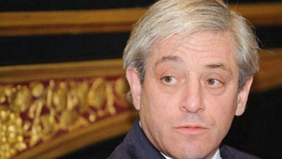 جون بيركو رئيس مجلس العموم البريطاني