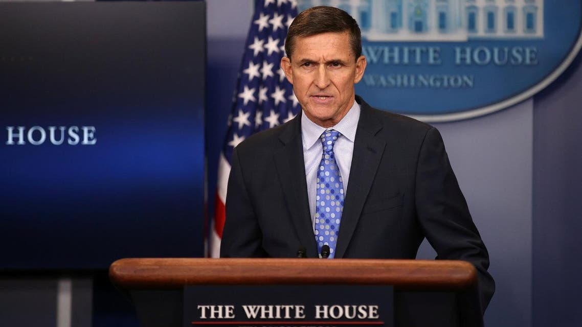 National security adviser General Michael Flynn delivers a statement daily briefing at the White House in Washington U.S. (Reuters)