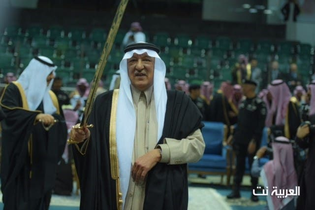 الملك سلمان العرضة الجنادرية تصوير الزميل ظافر البكري
