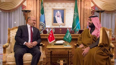 محمد بن سلمان يبحث مع وزير دفاع تركيا التعاون العسكري