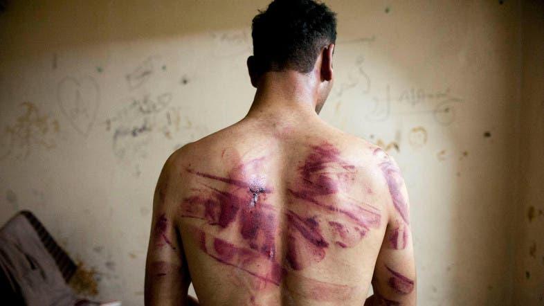 Syria prison (AFP)