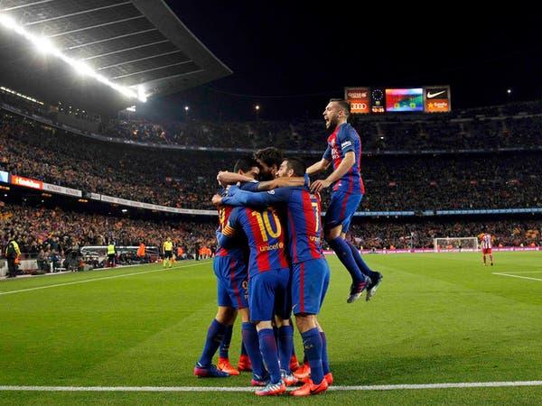 كأس إسبانيا: برشلونة يهزم أتليتكو بـ9 لاعبين