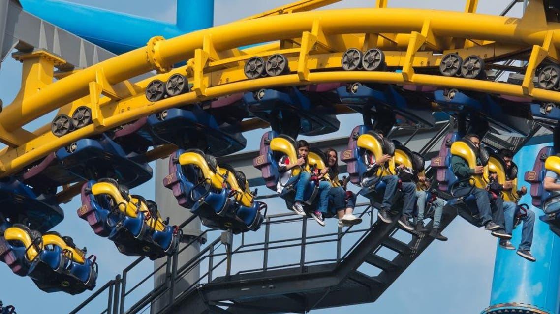 Six Flags theme park. (Shutterstock)