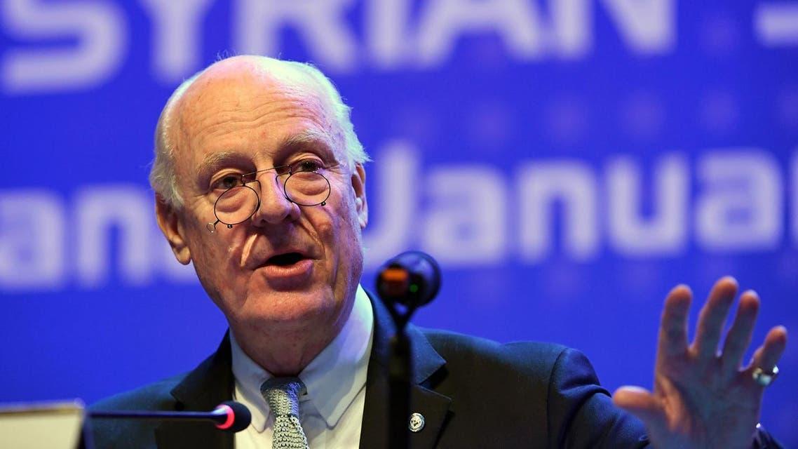 UN envoy Staffan de Mistura will send invitations to Syria peace talks in the coming days. (AFP)