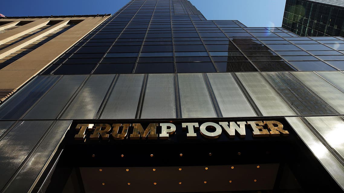 This file photo taken on March 11, 2016 shows Trump Tower along 5th Avenue in Manhattan in New York. The Pentagon wants to rent space in Trump Tower in New York
