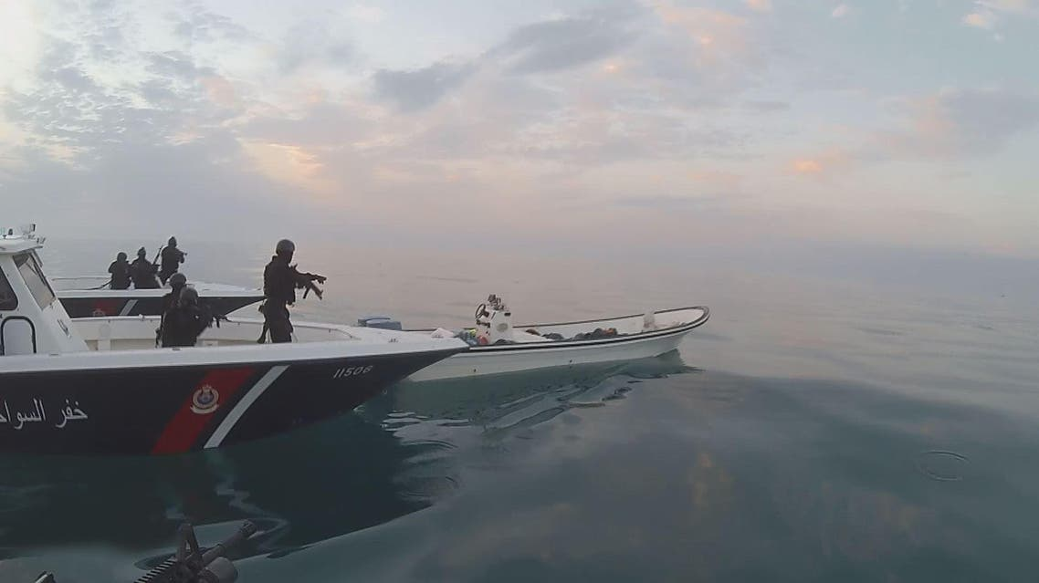 Bahrain kills three fugitives in gun battle at sea