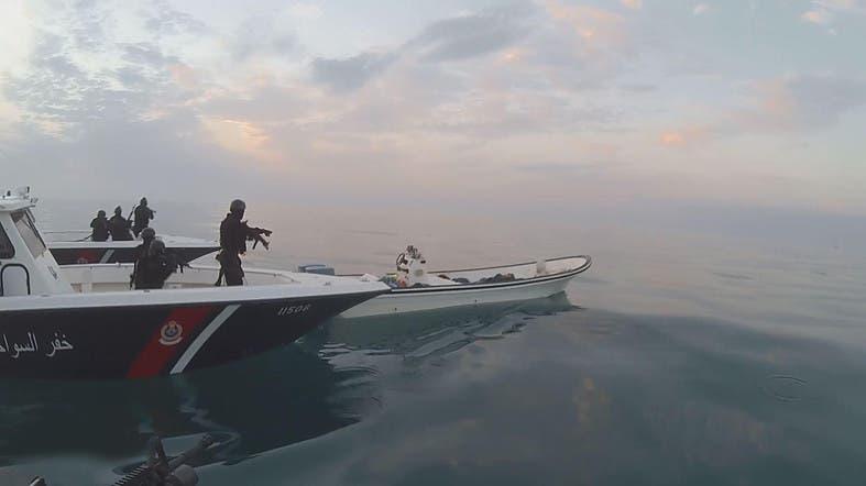 Bahrain kills three fugitives fleeing for iran by sea al arabiya bahraini coastguard intercept vessel carrying fugitives heading for iranian waters supplied publicscrutiny Gallery