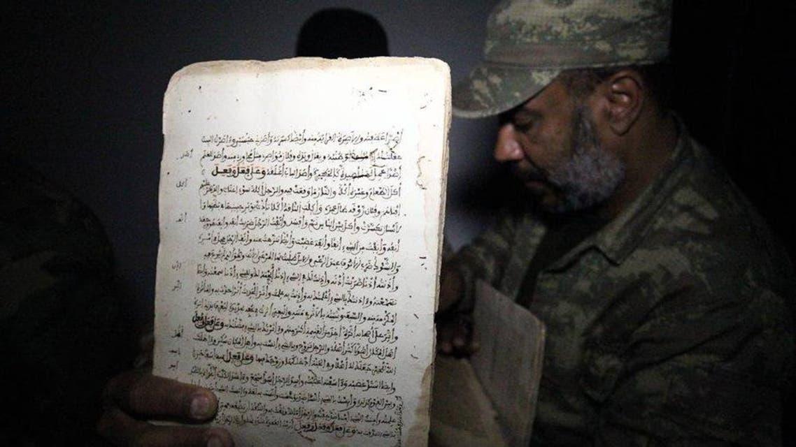 العثور على مخطوطات نادرة في قنفودة بنغازي