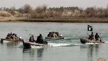 Iraqi forces foil ISIS bid to sneak across Tigris River