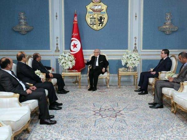 الرئيس التونسي يلتقي جبريل ويكثف جهوده لحل أزمة ليبيا