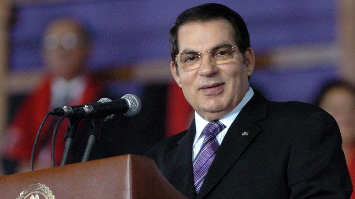 Tunisian ex-president Zine el Abidine Ben Ali and his wife have been issued new 10-year prison sentences for corruption. (AFP)