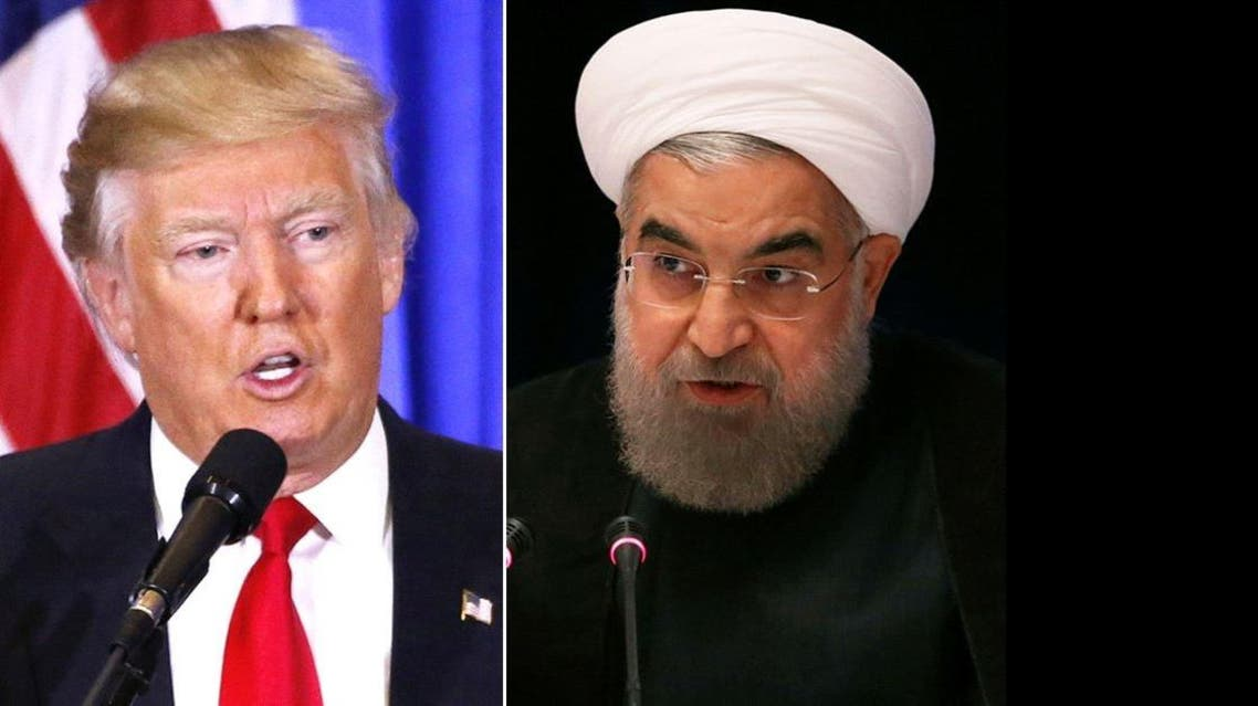 "Trump has put Iran ""on notice"" over charges that Tehran violated a nuclear deal with the West by test-firing a ballistic missile. (Reuters)"
