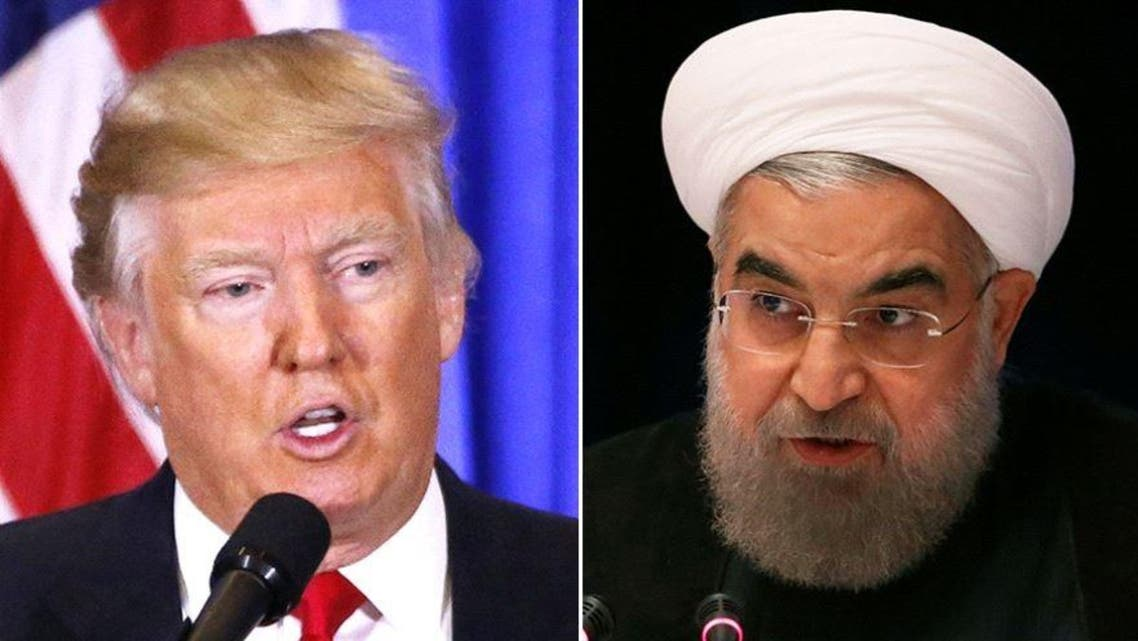 """Trump has put Iran """"on notice"""" over charges that Tehran violated a nuclear deal with the West by test-firing a ballistic missile. (Reuters)"""