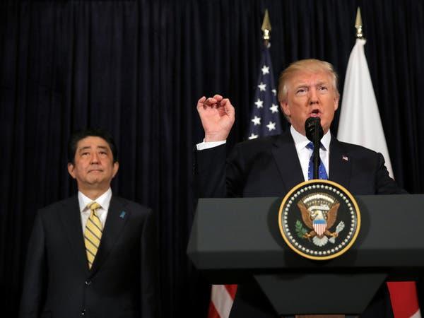 بعد إطلاق بيونغ يانغ صاروخاً.. ترمب: ندعم طوكيو 100%