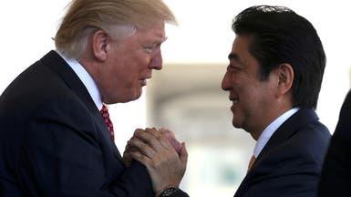 """ترمب: أكن احتراما كبيرا لـ""""صديقي"""" رئيس وزراء اليابان"""