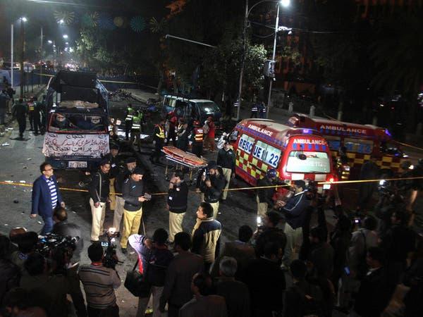 قتلى وجرحى في انفجار هزّ مدينة لاهور الباكستانية