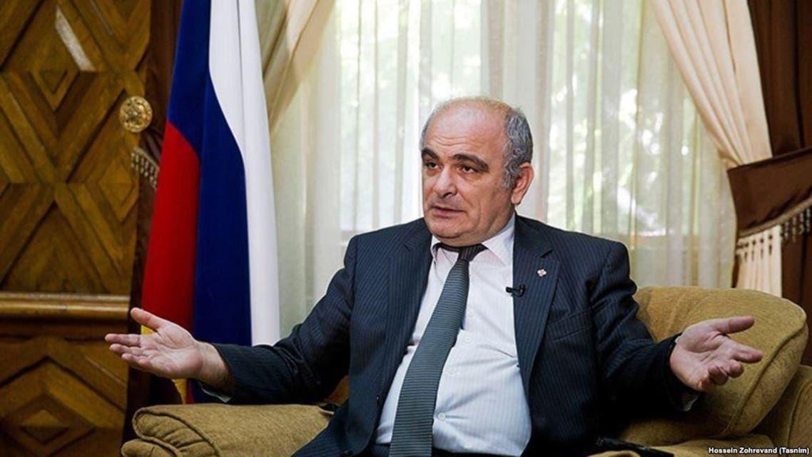 السفير الروسى لدى طهران، لوان جاغاريان