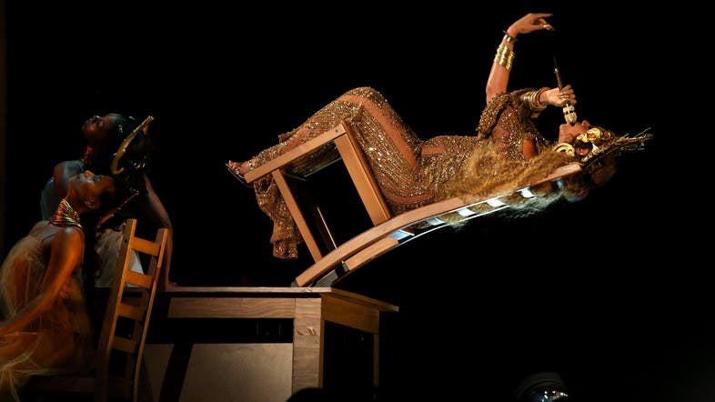 IN PICTURES: Pregnant Beyonce channels Ancient Egypt at