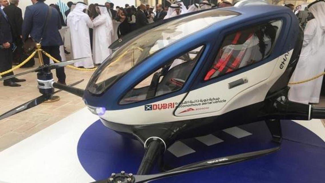 طائرة دبي ذاتية القيادة