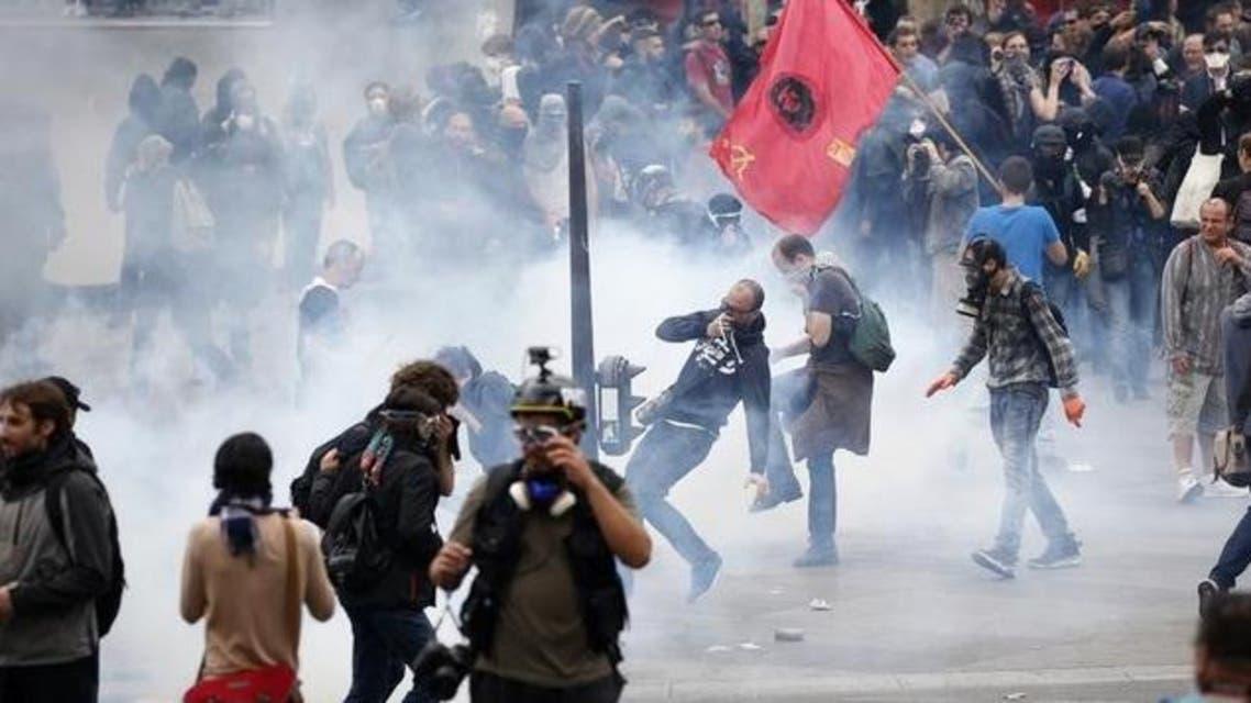 عنف في باريس