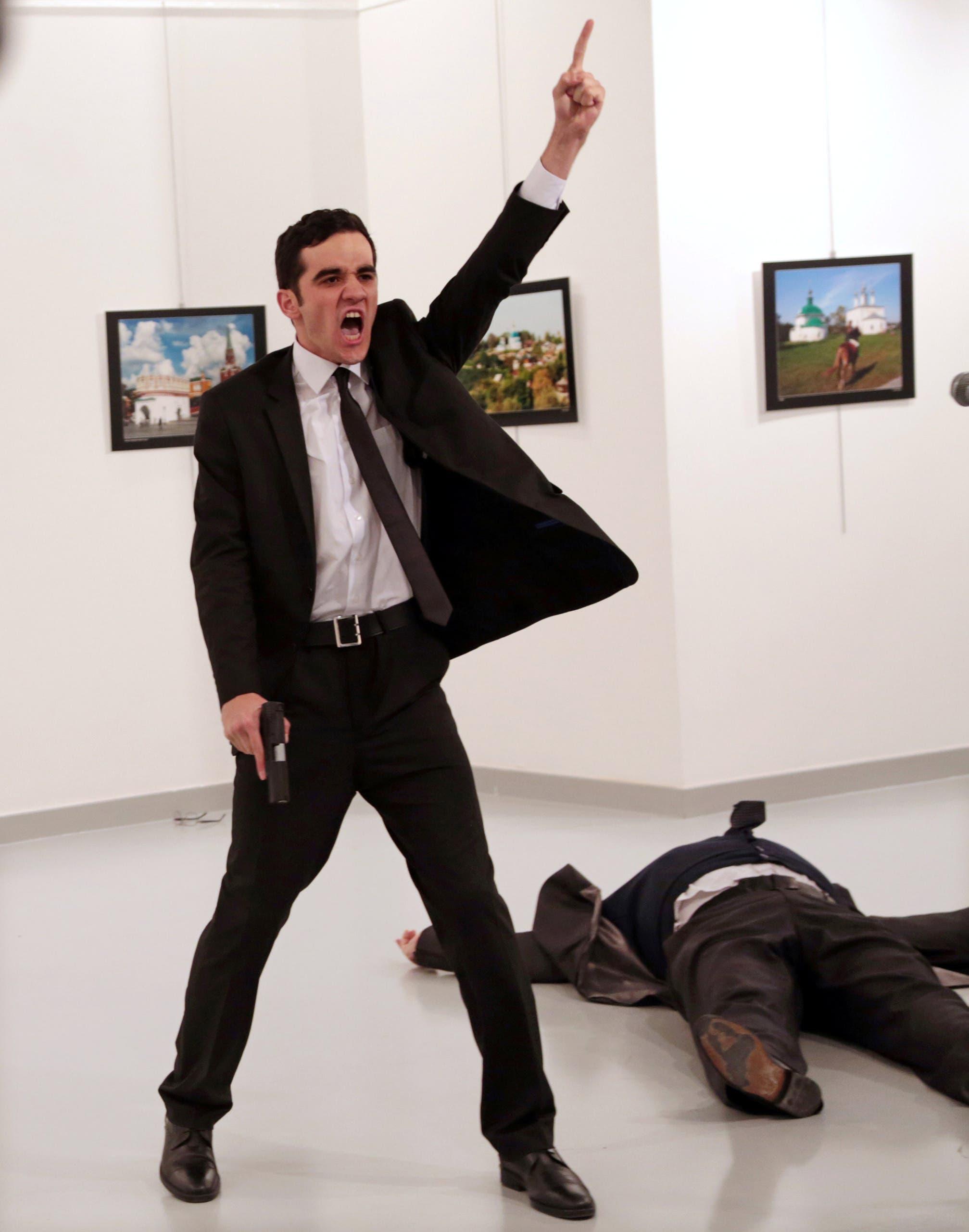 صورة القاتل التركي تفوز بجائزة صورة العام