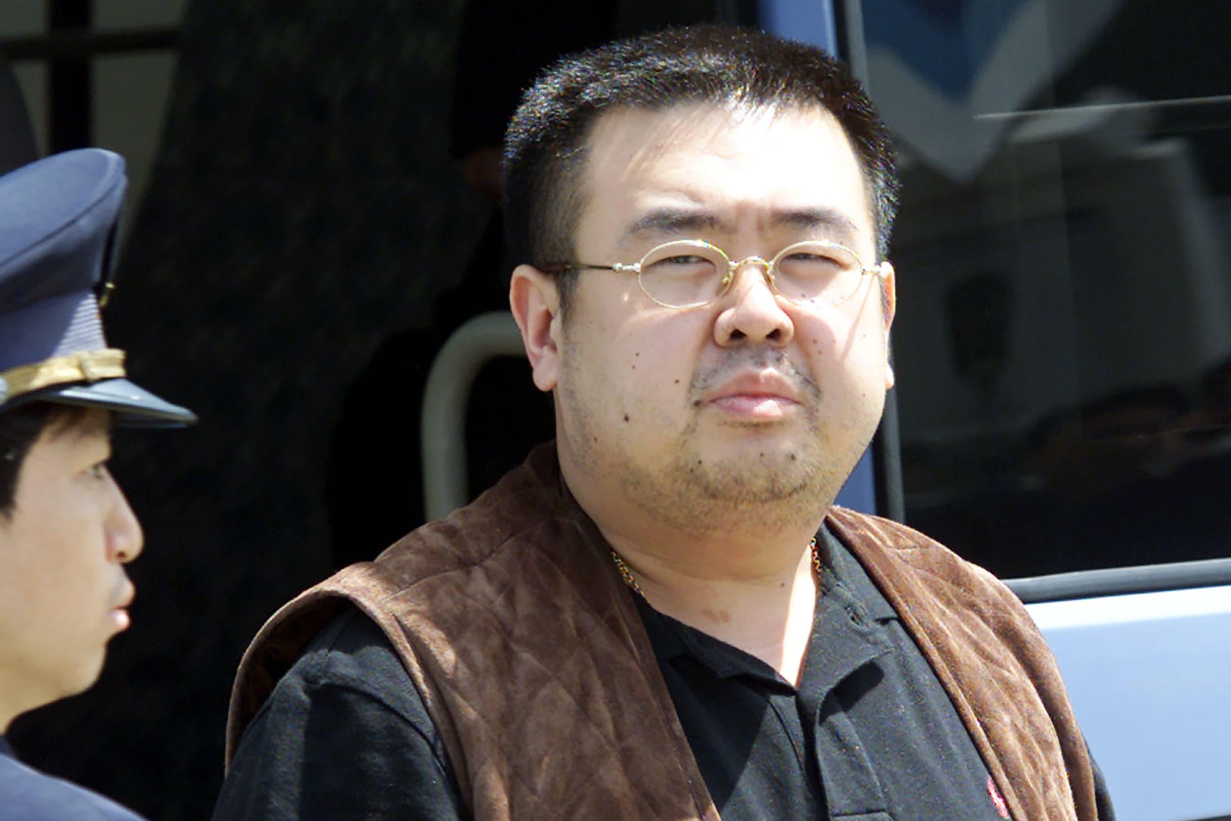 كيم يونغ نام الذي تم اغتياله في مطار ماليزي