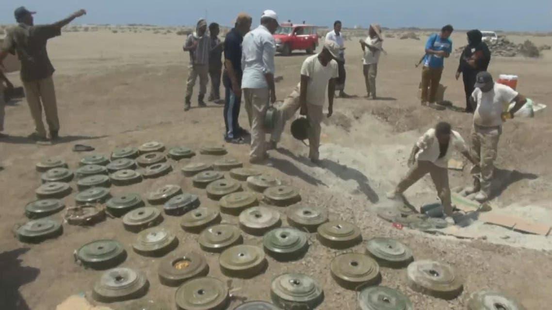 THUMBNAIL_ ربع مليون لغم للميليشيات تهدد حياة اليمنيين
