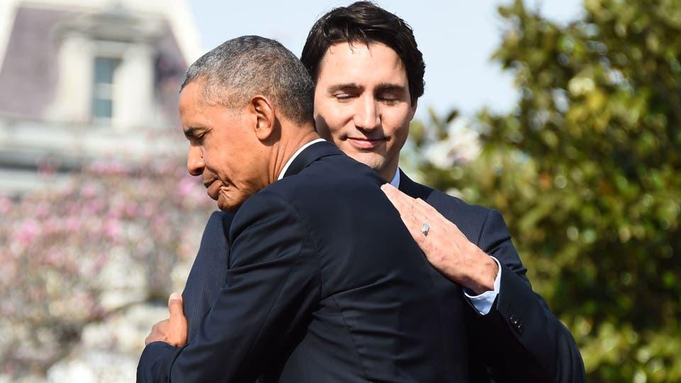 العلاقة الحميمة التي جمعت بين أوباما وجاستن ترودو