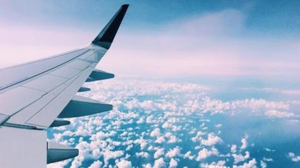 طيران سفر سحب
