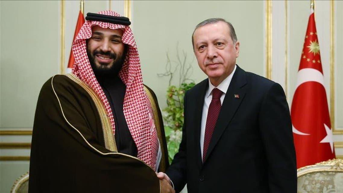 ولي ولي العهد السعودي والرئيس التركي