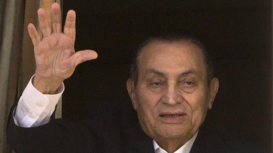 Ousted former Egyptian President Hosni Mubarak (File Photo: AP /Amr Nabil)