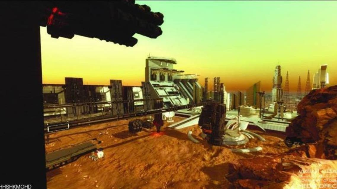 شهر امارات در مریخ