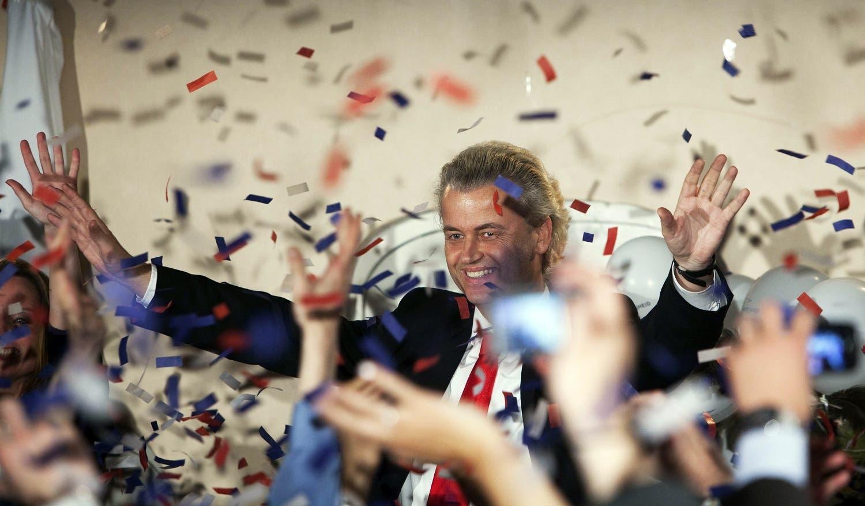 خیرت ویلدرز، رهبر حزب راست افراطی «برای آزادی»
