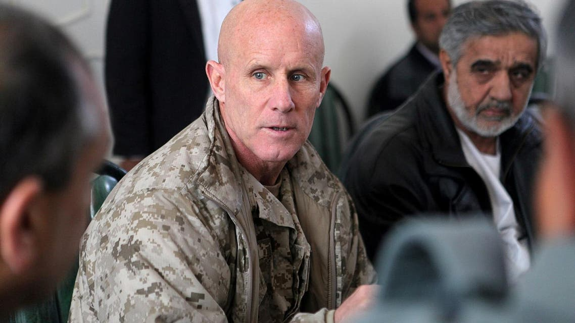 Robert S. Harward, when he was commanding officer of Combined Joint Interagency Task Force 435 in 2011 (File Photo: Sgt. Shawn Coolman/US Marines/Handout via Reuters)