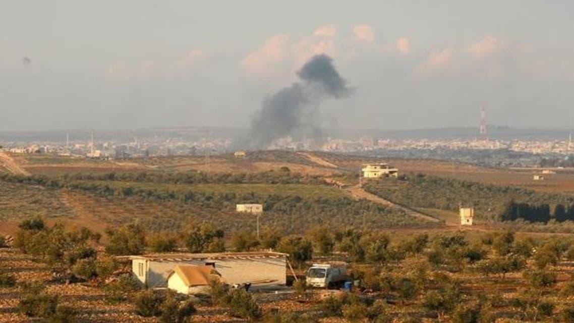 قصف روسي على درعا