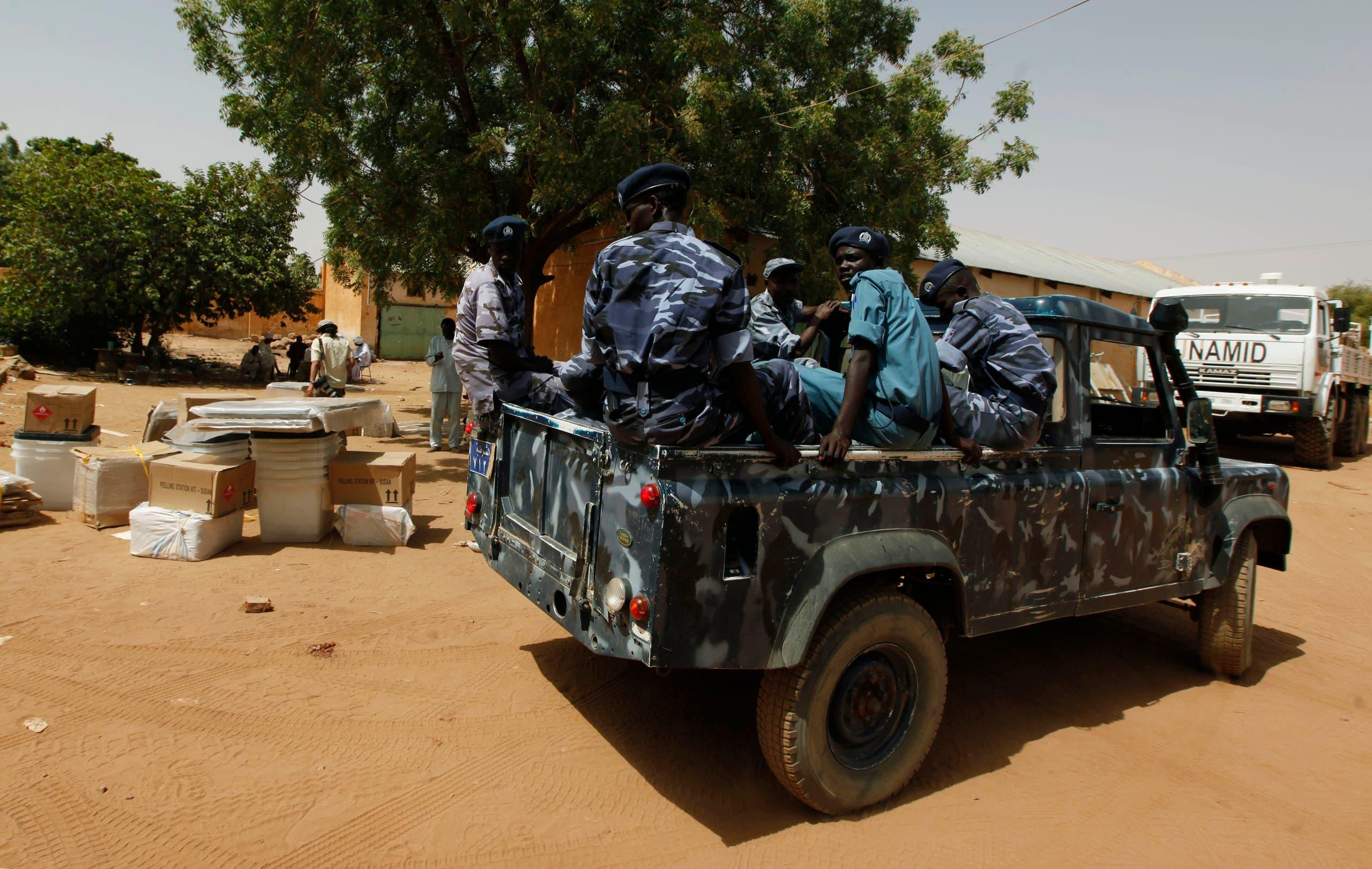 عناصر من الأمن السوداني