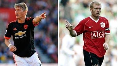سكولز: شفاينشتايغر قادر على رفع مستوى مانشستر يونايتد