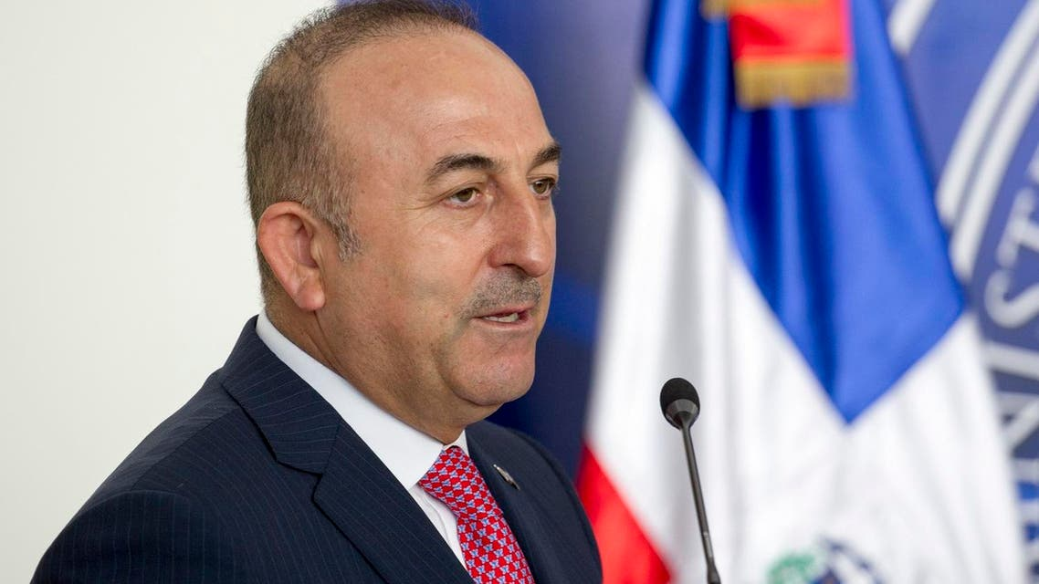 Mevlut Cavusoglu said only through making the zones habitable would tens of thousands of Syrians be encouraged to return home. (AFP)