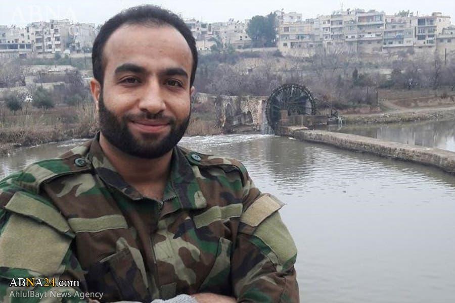 الضابط مهدي نعيمايى في حماة