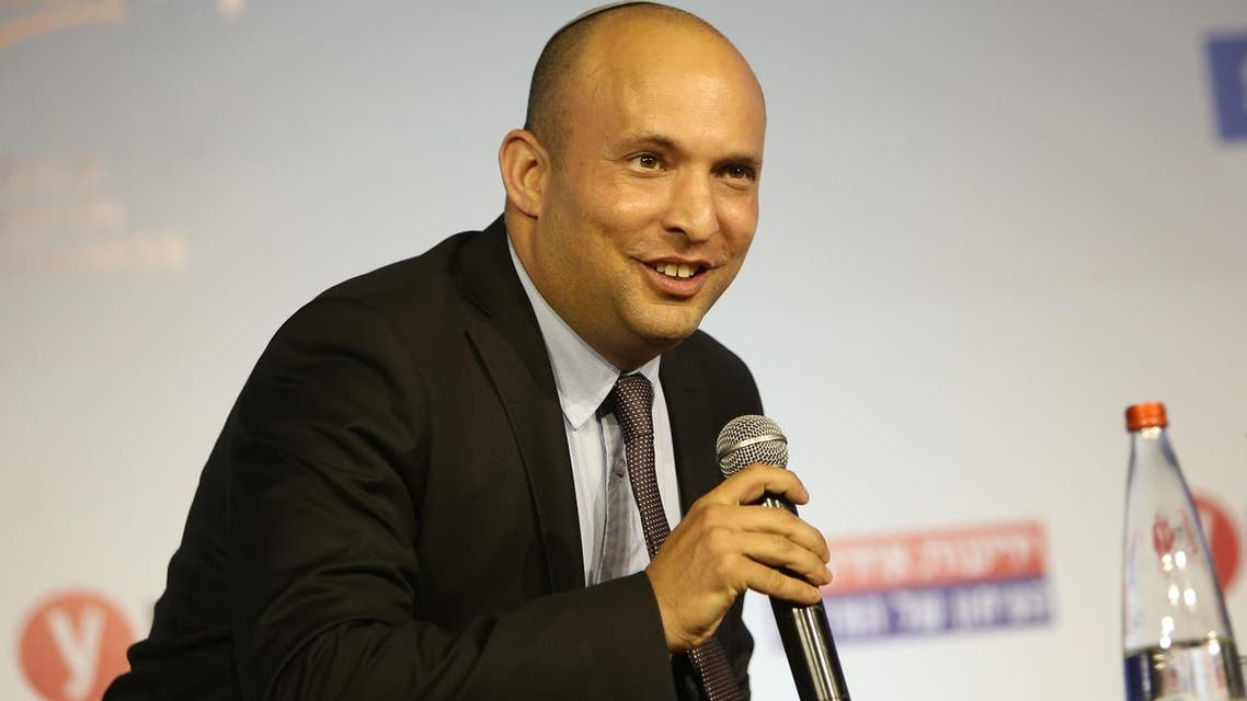 Naftali Bennett during a conference in Jerusalem on March 28, 2016. (AFP)