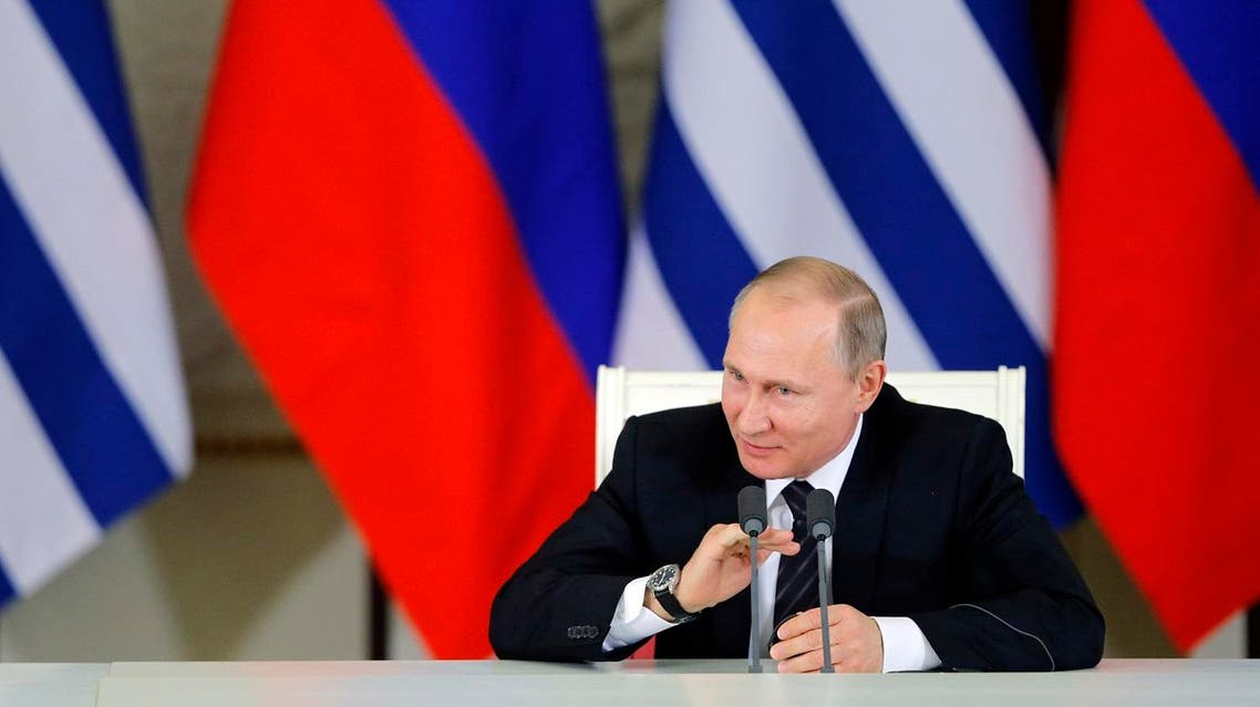 Western diplomats, who say Putin's campaign of air strikes has worsened the conflict, have, in private, reacted to Russia's tribulations. (AFP)