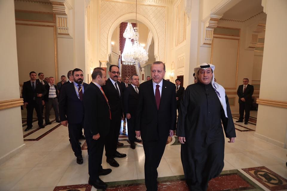 اردوغان و تركی الدخيل
