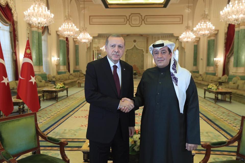 أردوغان وتركي الدخيل 3