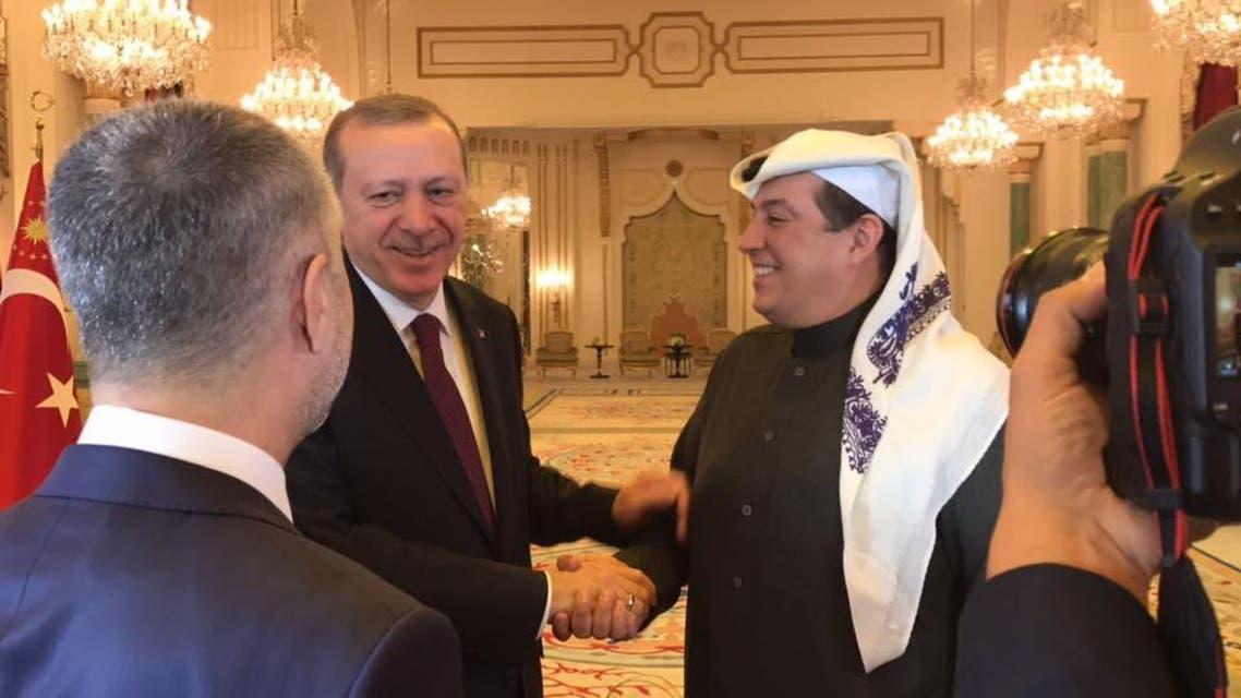 أردوغان وتركي الدخيل