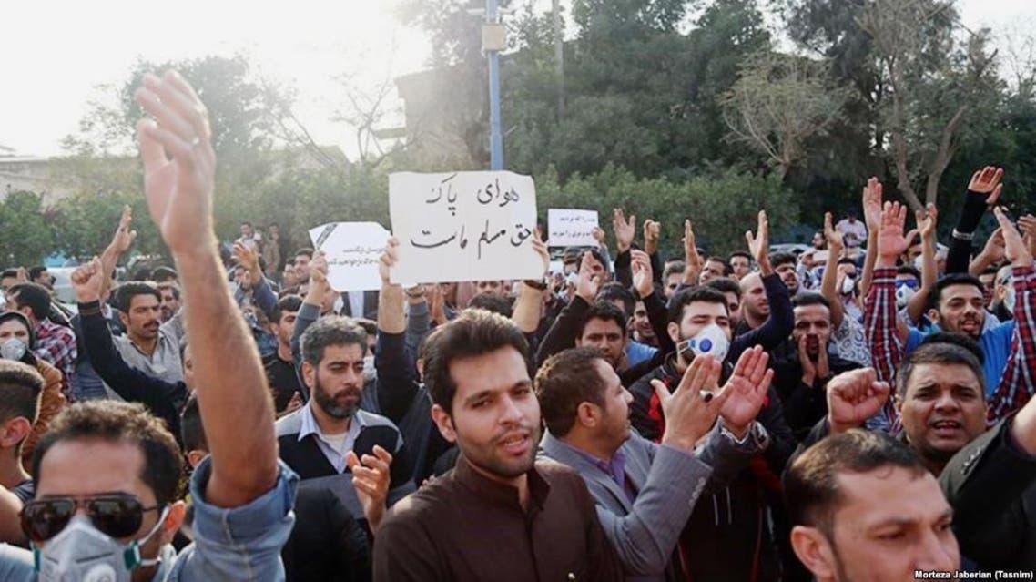 المتظاهرون الأهوازيون