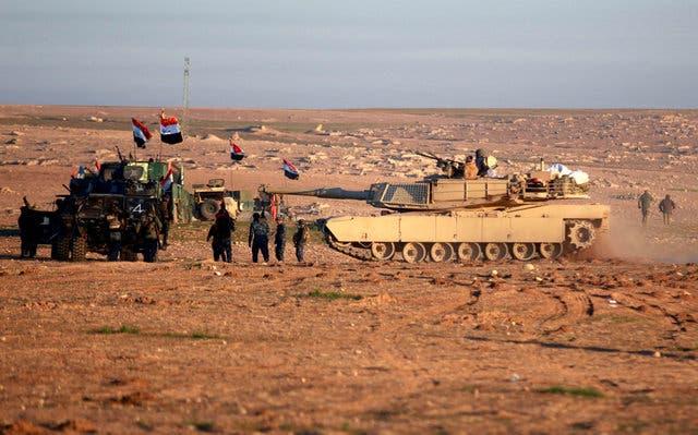 القوات العراقية تتقدم باتجاه غرب الموصل