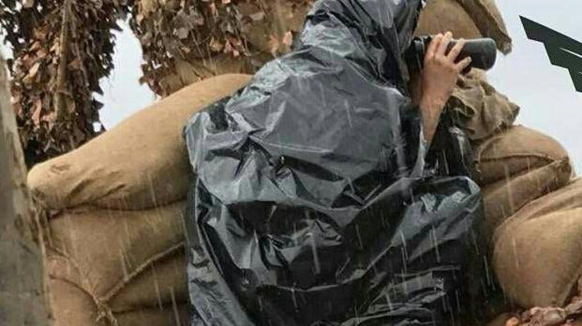 جندي سعودي في الحد الجنوبي