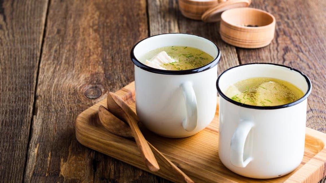 Chicken soup. (Shutterstock)