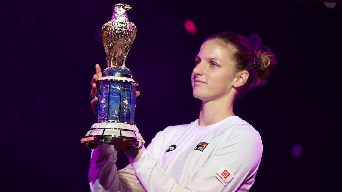 Pliskova won her second WTA title of the year, after Brisbane in January, and the eighth of her career Reuters
