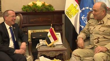 حجازي يبحث مع كوبلر تطورات أزمة ليبيا وسبل الحل